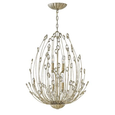 Tulah Two Tier 4-Light Crystal Pendant
