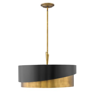 Gigi 5-Light Drum Pendant