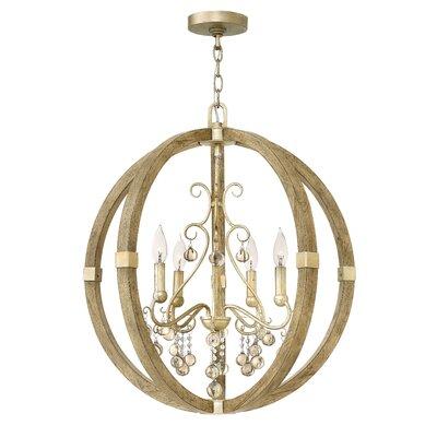 Abingdon Single Tier 4-Light Globe Pendant