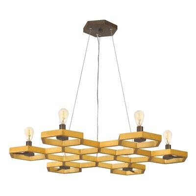 Moxie Single Tier 6-Light Geometric Pendant