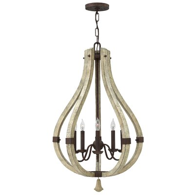 Middlefield Single Tier 5-Light Foyer Pendant