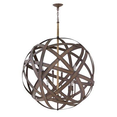 Carson Two Tier 8-Light Globe Pendant