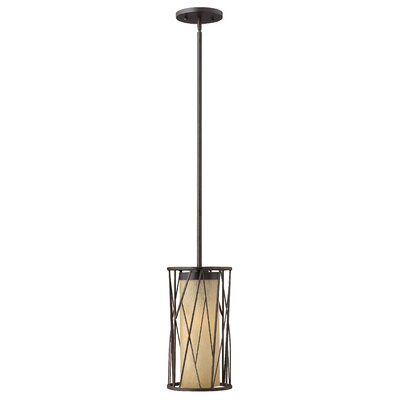 Nest 1-Light Mini Pendant Finish: Oil Rubbed Bronze