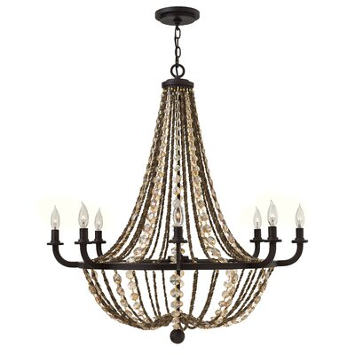 Hamlet 8-Light Candle-Style Chandelier