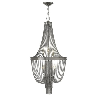 Regis Two Tier 6-Light Empire Chandelier