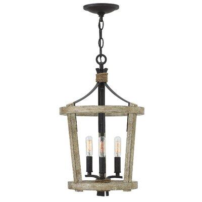 Sherwood Small 3-Light Lantern Pendant