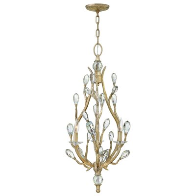 Eve 3-Light Candle-Style Chandelier