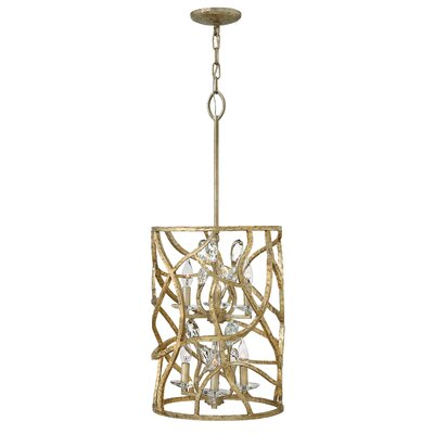 Eve Two Tier 6-Light Lantern Pendant