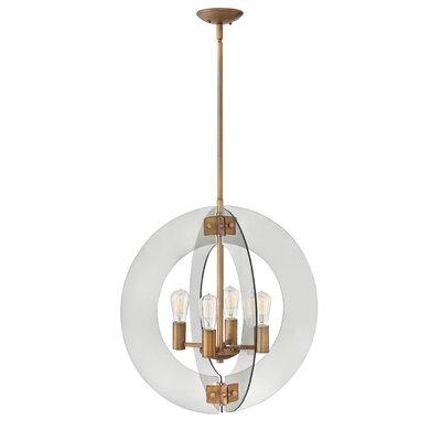 Solstice Single Tier 4-Light Globe Pendant