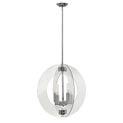 Solstice Stem Hung 4-Light Globe Pendant