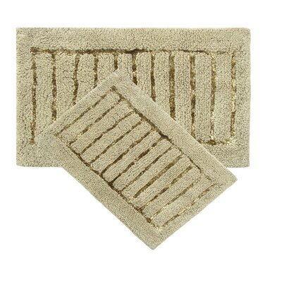 Cotta 2 Piece Bath Rug Set Color: Sage
