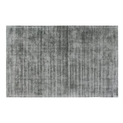 Pressley Hand-Woven Wool Gray Area Rug Rug Size: Rectangle 8x 10