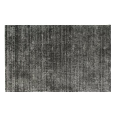 Pressley Hand-Woven Wool Midnight Area Rug Rug Size: Rectangle 5x 8