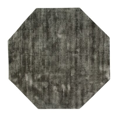 Pressley Hand-Woven Wool Midnight Area Rug Rug Size: Octagon 5 x 5