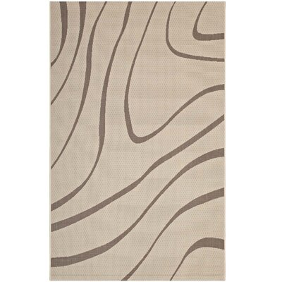 Filson Abstract Beige Indoor/Outdoor Area Rug Rug Size: Rectangle 8 x 10