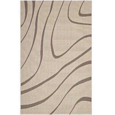Filson Abstract Beige Indoor/Outdoor Area Rug Rug Size: Rectangle 8 x 10
