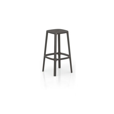 Nunley Bar Stool (Set of 2) Color: Dark Brown