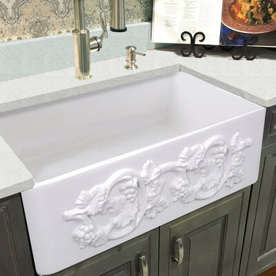 Vineyard Fireclay 30 x 20 Farmhouse Kitchen Sink