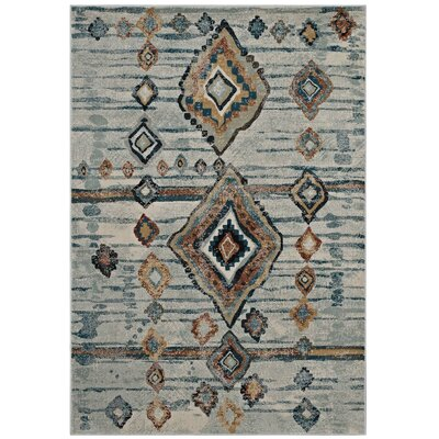 Fiala Moroccan Diamond Beige/Brown Area Rug Rug Size: Rectangle 5 x 8