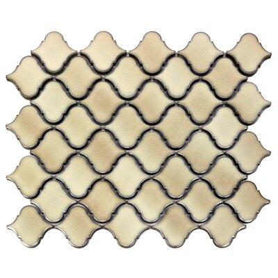 Tessen 2.2 x 2.5 Porcelain Mosaic Tile in Cafe Beige