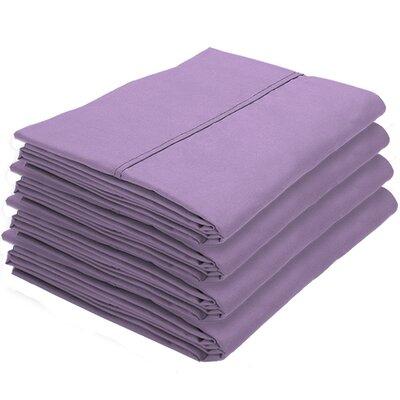 Dupras Bulk Pack Double Brushed Pillow Case Color: Lavender