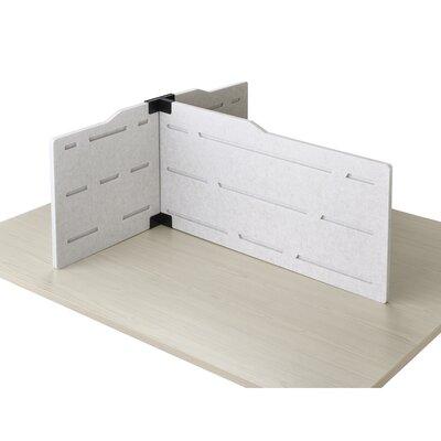 Keaney 17.5 x 37 Desk Privacy Panel Finish: Tan