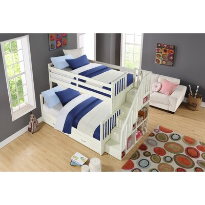 Ehrlich Twin Over Full Bunk Bed