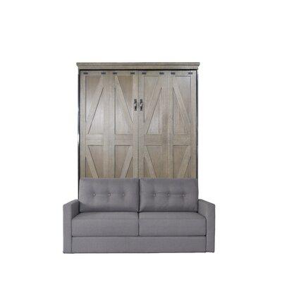 Wehr Queen Upholstered Murphy Bed Color: Dove Gray