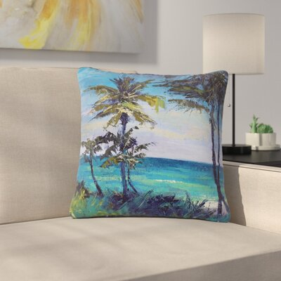 Carol Schiff Room with a View Outdoor Throw Pillow Size: 16 H x 16 W x 5 D