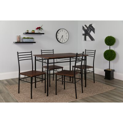 Millhouse Kingston 5 Piece Dining Set