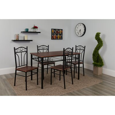 Millersburg 5 Piece Dining Set