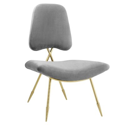 Haller Side Chair Upholstery: Dark Gray