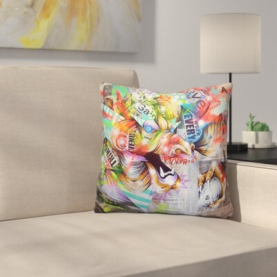 Seiryu Throw Pillow