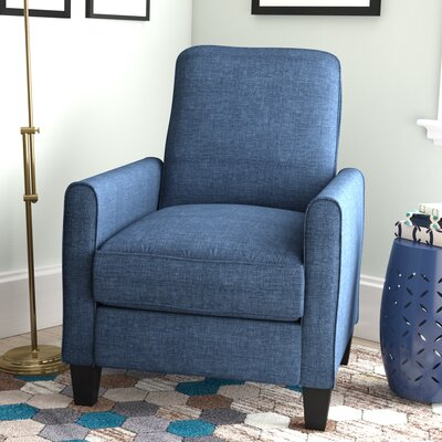 Beauford Recliner Upholstery: Blue