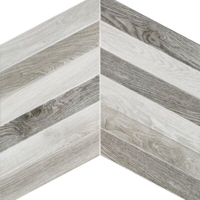 Arrow 3.15 x 16 Porcelain Mosaic Tile in Vintage Mix