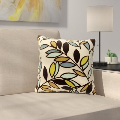 Arnwine Throw Pillow Size: 20, Color: Lapis