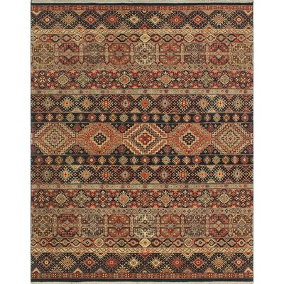 One-of-a-Kind Raulston Hand-Knotted Wool Brown Area Rug