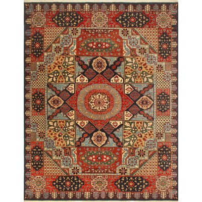 One-of-a-Kind Keel Hand-Knotted Wool Brown/Red Area Rug