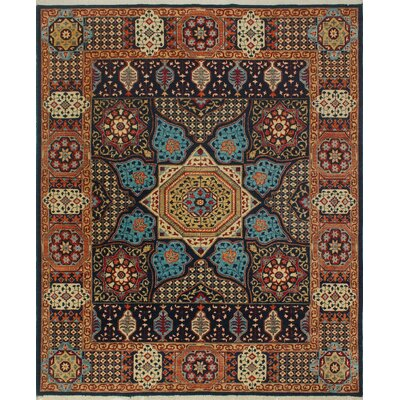 One-of-a-Kind Keel Hand-Knotted Wool Blue/Brown Area Rug