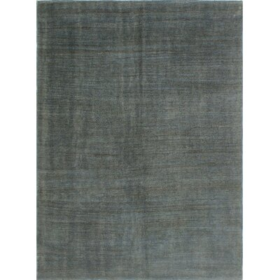 One-of-a-Kind Culligan Hand-Woven Wool Gray Area Rug