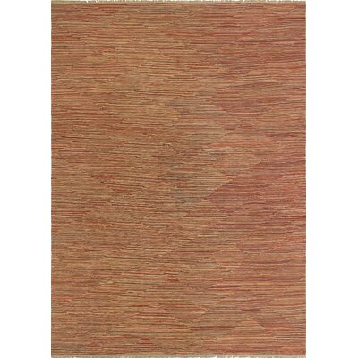 One-of-a-Kind Priston Hand-Woven Wool Red Area Rug