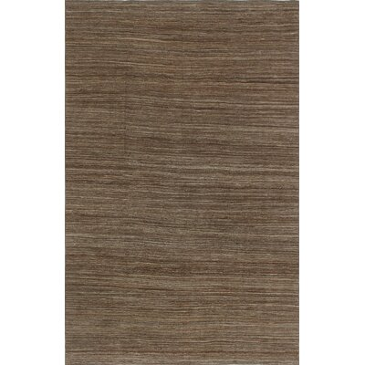 One-of-a-Kind Culligan Hand-Woven Wool Brown Area Rug
