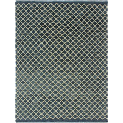 One-of-a-Kind Colegrove Hand-Woven Wool Gray/Beige Area Rug