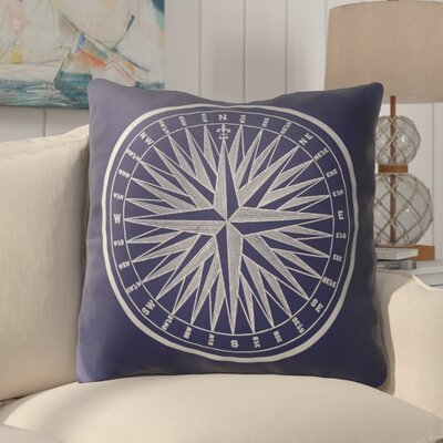 Melton Nautical Compass Indoor/Outdoor Euro Pillow