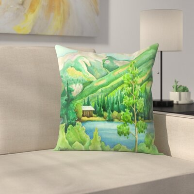 Alpine Throw Pillow Size: 18 x 18