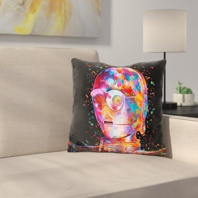 C3po Throw Pillow