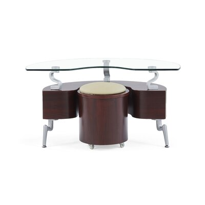 Pearsall End Table Color: Cappuccino
