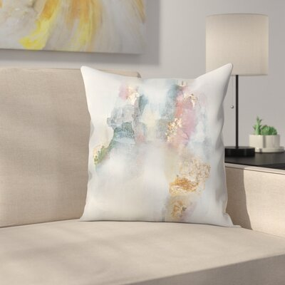 Christine Olmstead Rose1 Throw Pillow Size: 18 x 18