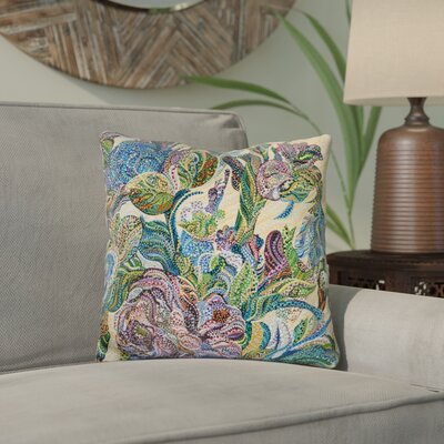Eddy Floral Throw Pillow