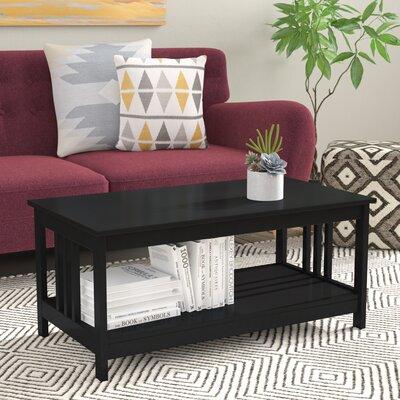 Cade Coffee Table Color: Black